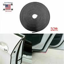 <b>32FT U SHAPE</b> Door Edge Trim Rubber Seal Protector Lining Strip ...