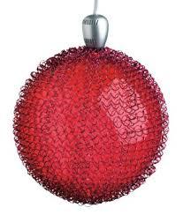 gkibethlehem lighting maille 4 inch led glass sphere red buy gki bethlehem lighting