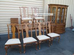 Thomasville Cherry Dining Room Set Antique Cherry Dining Room Chairs