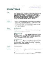 resume sample college  seangarrette coresume sample college resume sample student college student