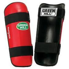 <b>Защита</b> голени PANTHER красные /<b>Green Hill</b>