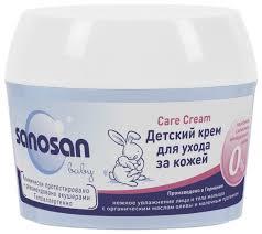 <b>Sanosan</b> Детский <b>крем</b> для ухода за кожей — купить по выгодной ...