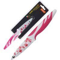 нож керамический moulinvilla цвет черный длина лезвия 9 5 см