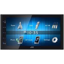 <b>JVC KW-M24BT</b> 2 DIN In Dash Bluetooth Digital Media Receiver ...