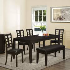 wood kitchen table beautiful: beautiful black white wood glass cool design dining room black