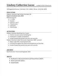 student first resume for high school quotesread sample resumes for a high school student here