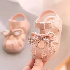 Princess Sandals <b>2021</b> New <b>Anti</b>-<b>kick</b> Sandals for Girl Infant Baby ...