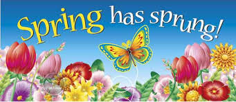 Image result for spring has sprung clipart