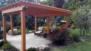 minimalist oval patio