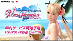 Dead or Alive Xtreme: <b>Venus Vacation</b> Launches In Japan In <b>2017</b> ...