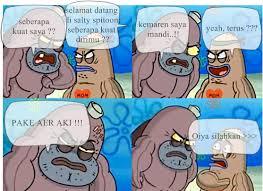 Spongebob Salty Spitoon Meme Generator images via Relatably.com
