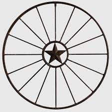 metal star wall decor: metal star wagon wheel wall decor