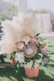 flowers wedding decor bridal musings blog: protea bouquet proteas for weddings bridal musings wedding blog