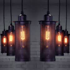 industrial european art craft pendant lamp ceiling lamps home decorative hanging light bar loft lighting ceiling lantern pendant lighting