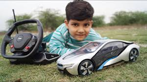 Kids Play with BMW i8 <b>RC</b> CAR | UNBOX & TEST!! <b>1:14 Scale</b> ...