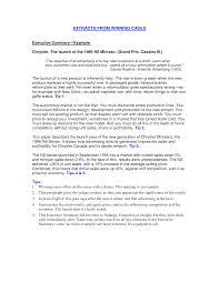 executive summary template example xianning executive summary template example how to write a dissertation executive summary best photos of sample