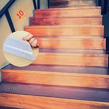 Ontwie Non-Slip <b>Stair Mats 15</b> cm x 60 cm Transparent Non-Slip ...