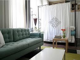 geometric studio apartment decor
