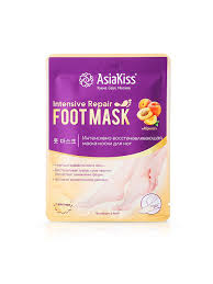 """<b>Восстанавливающая маска</b> для ног, носочки """"Абрикос"""", размер ..."""