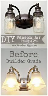 diy mason jar vanity light betty 8 light mason jar