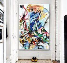 <b>Wassily Kandinsky Geometric Abstract</b> Art Canvas Art Painting ...