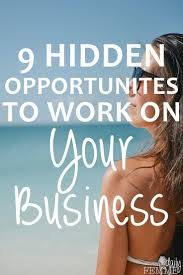 images about business ownership and entrepreneurship on 9 hidden time opportunities to work on your business