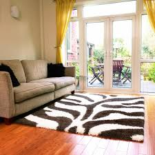 Zebra Living Room Decor Yellow Zebra Rug Rugs Ideas
