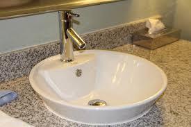 bathroom drop in sink