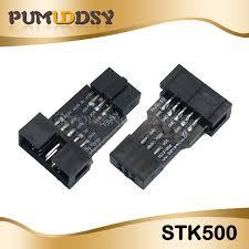 <b>5pcs 10Pin to</b> 6Pin Adapter Board for AVRISP MKII USBASP ...
