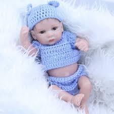 <b>2016 New Mini</b> Reborn Baby Doll Full Silicone Vinyl 11 Inch ...