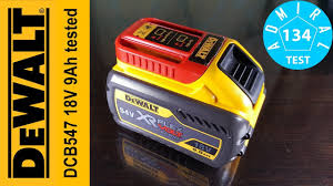 Тест <b>аккумулятора DeWALT DCB547</b> 18V 9Ah Часть 3 - YouTube