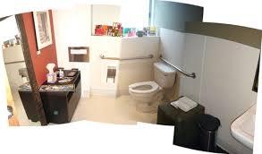 team spaces bathroom office