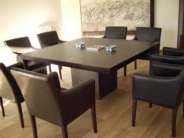 extension table f: square dining room table with extension