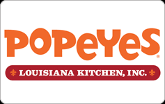 Buy Popeyes Gift Cards   GiftCardGranny
