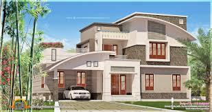bedroom contemporary mix house exterior   Kerala home design and    Contemporary mix house