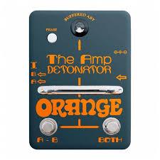 Купить <b>Orange педаль</b> Amp Detonator ABY на Яндекс.Маркете ...