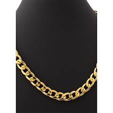 U7® Men's 18K Chunky <b>Gold Filled Hiphop</b> Big Necklace Gold ...
