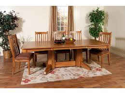 designs sedona table top base: sunny designs sedona veneer trestle table ro