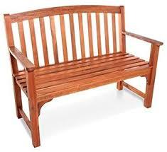 BillyOh Windsor <b>2 Seater</b> High Back Acacia Hardwood Wooden <b>Bench</b>