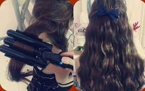 Máy dập xù, máy tạo kiểu tóc, máy sấy tóc, máy làm xoăn 3 ống, máy xoăn Hàn Quốc