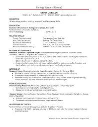 biology resumes template biology resumes