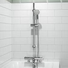 thermostatic brand bathroom: round  function thermostatic bar mixer kit with designer bath filler