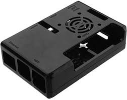 ILS. - Black ABS Exclouse Box Case with Fan Hole for ... - Amazon.com