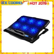 ICE COOREL <b>K6 Laptop</b> Ice <b>Cooling</b> Pads Super Mute 6 Fans,Built ...