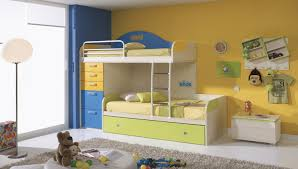 image of kids bunk beds with desk style bunk bed desk trundle