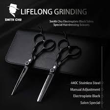<b>Smith Chu</b> HM100 7 Inch Haircut Thinning Scissors 9Cr13Mov ...