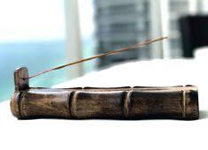 TREELANCE <b>Bamboo</b> Shape Incense Holder <b>Handmade</b> Incense ...