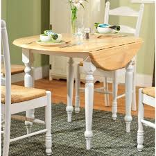 40 inch round pedestal dining table: simple living rubberwood  inch diameter round drop leaf table