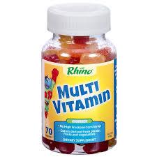 <b>Rhino Gummy</b> Bear <b>Vitamins</b> - Fruit Flavored (70 <b>Gummies</b>) by ...