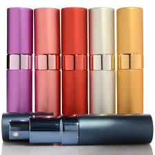 <b>1PC Top Quality</b> 5ml Metal Perfume Atomizer Empty Glass Spray ...